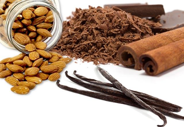 vanilla almond fudge chocolate smoothie