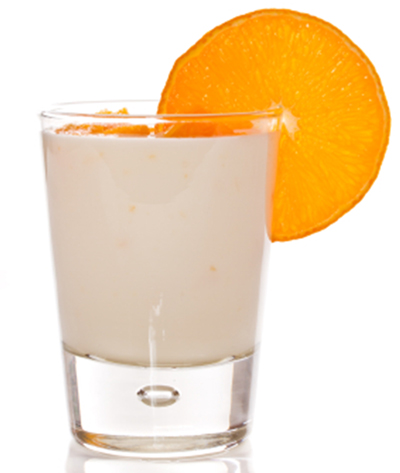 Orange Vanilla Swirl Shakeology Smoothie