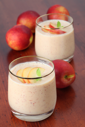 Peaches and Cream Shakeology Smoothie